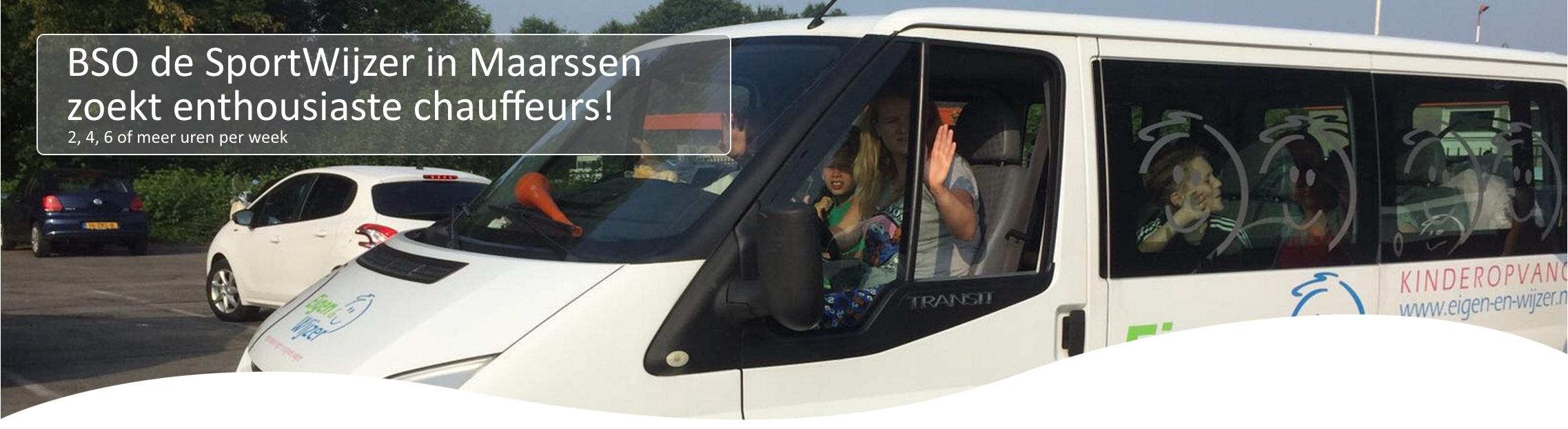 Chauffeur BSO de SportWijzer