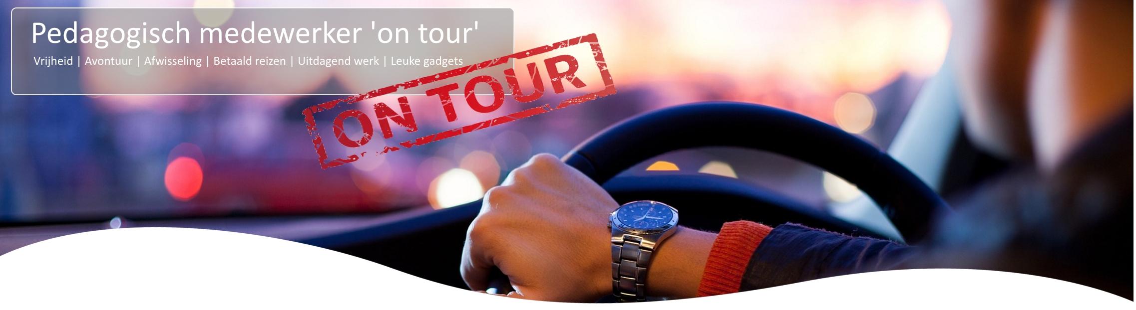 pedagogisch medewerker on tour