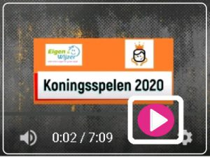 BSO activiteit - koningsspelen 2020