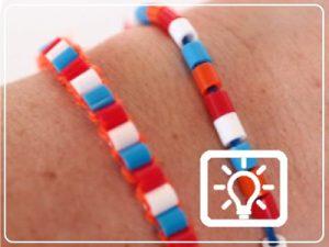 bso activiteit - armbandje maken