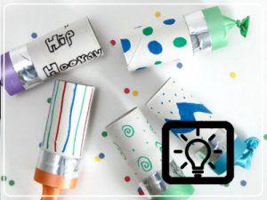 bso activiteit - confetti