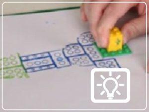bso activiteit - lego stempelen