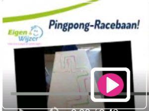 bso activiteit - ping pong racebaan