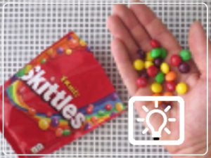 bso activiteit - proefje skittles