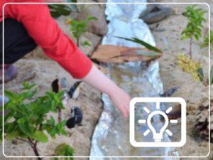 bso activiteit - rivier maken