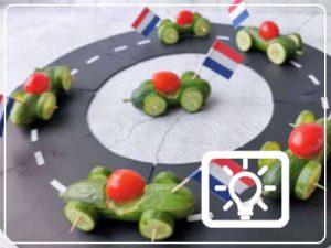 bso activiteit - komkommer raceauto