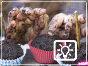 bso activiteit - modder cupcakes