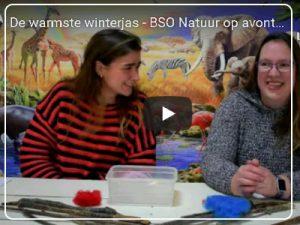 bso activiteit - warmste winterjas